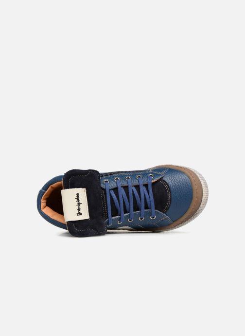 Sneakers Babybotte Klif Azzurro immagine sinistra