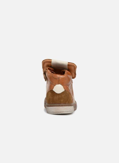 Sneakers Babybotte Klif Brun Se fra højre