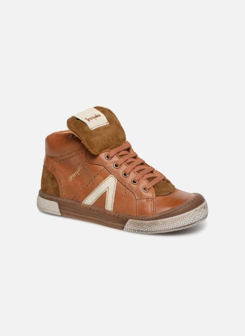 Sneakers Babybotte Klif Brun detaljeret billede af skoene