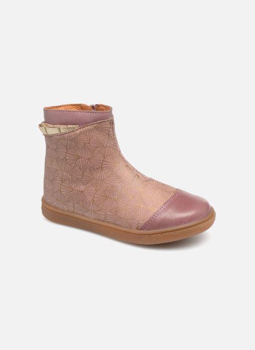 Bottines et boots Babybotte Alibi Rose vue détail/paire
