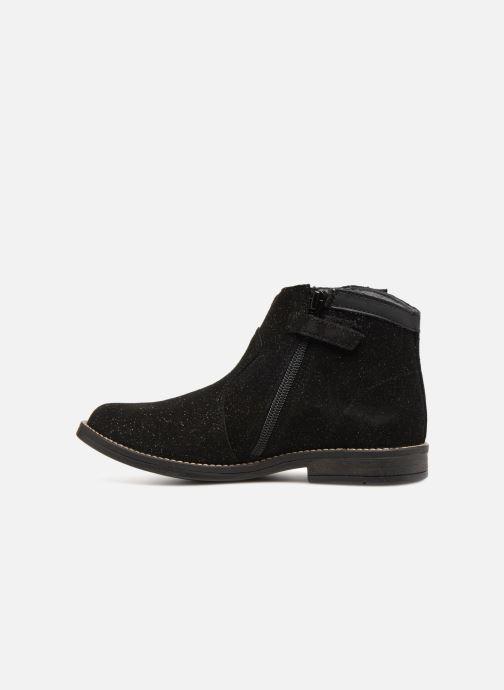 Bottines et boots Babybotte Kenia Noir vue face