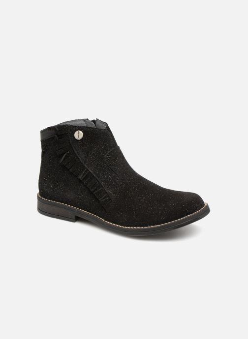 Bottines et boots Babybotte Kenia Noir vue détail/paire