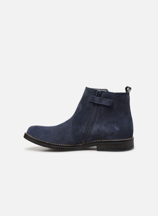 Bottines et boots Babybotte Noam Bleu vue face