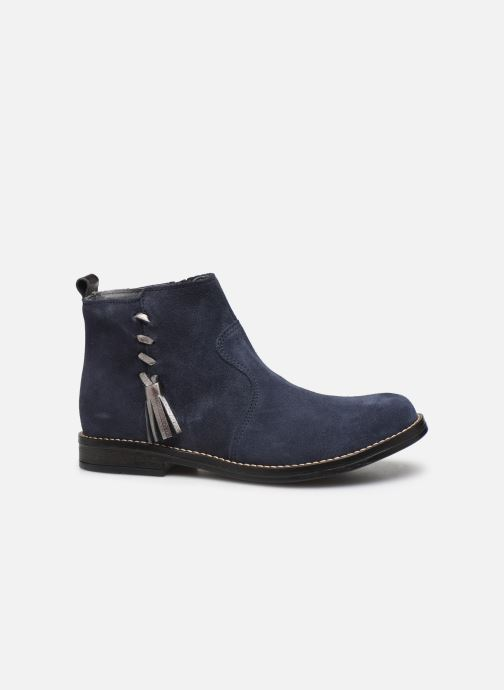 Ankle boots Babybotte Noam Blue back view