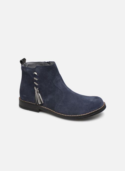 Ankelstøvler Babybotte Noam Blå detaljeret billede af skoene