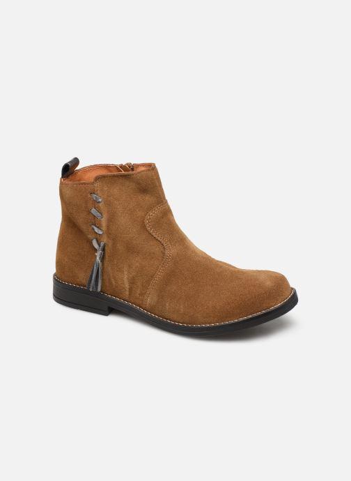 Bottines et boots Babybotte Noam Marron vue détail/paire