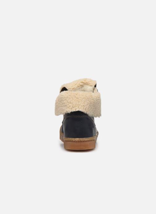 Bottines et boots Babybotte Karasjokfl Bleu vue droite