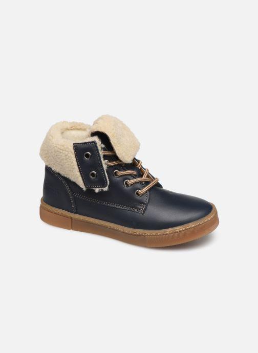 Bottines et boots Babybotte Karasjokfl Bleu vue détail/paire