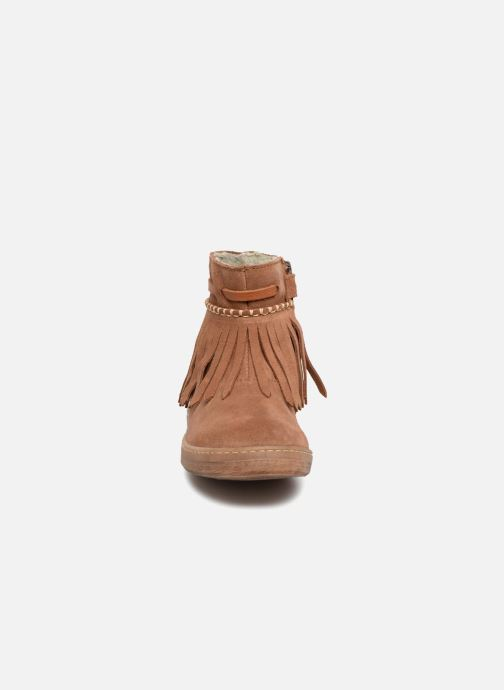 Ankle boots El Naturalista E066 Kepina Brown model view