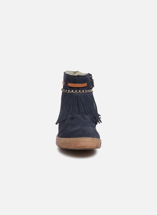 Bottines et boots El Naturalista E066 Kepina Bleu vue portées chaussures