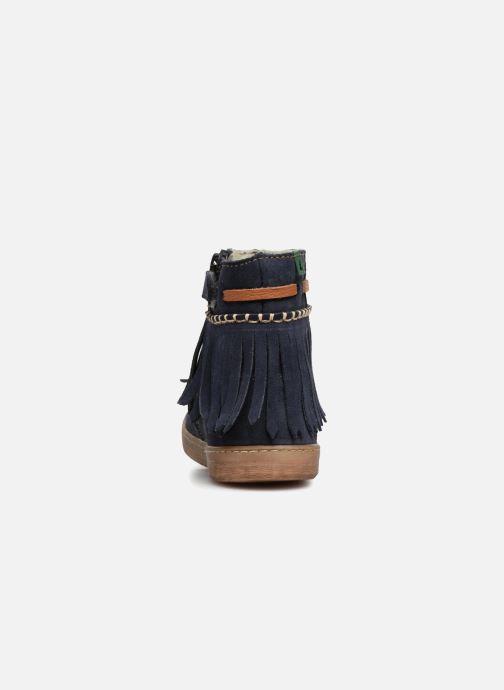 Bottines et boots El Naturalista E066 Kepina Bleu vue droite