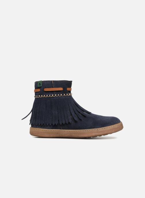 Bottines et boots El Naturalista E066 Kepina Bleu vue derrière