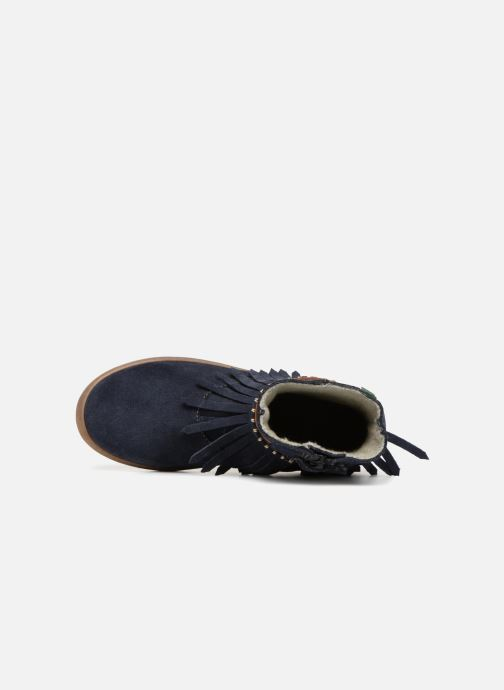 Bottines et boots El Naturalista E066 Kepina Bleu vue gauche