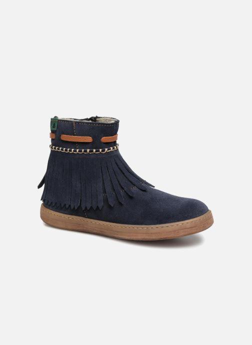 Bottines et boots El Naturalista E066 Kepina Bleu vue détail/paire