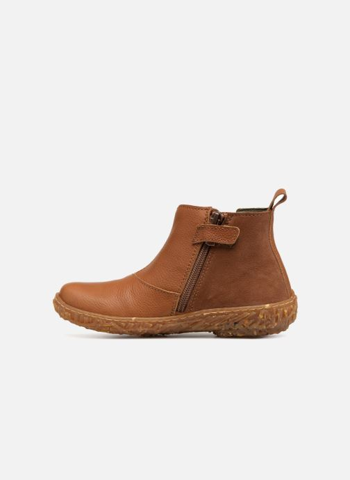 Ankle boots El Naturalista E766 Nido Brown front view
