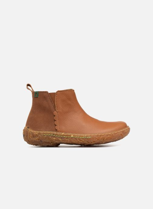 Ankle boots El Naturalista E766 Nido Brown back view