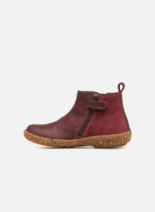 Ankle boots El Naturalista E766 Nido Burgundy front view