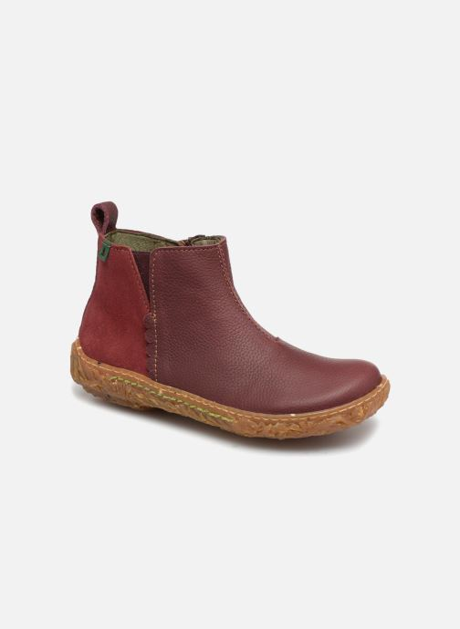 Ankle boots El Naturalista E766 Nido Burgundy detailed view/ Pair view