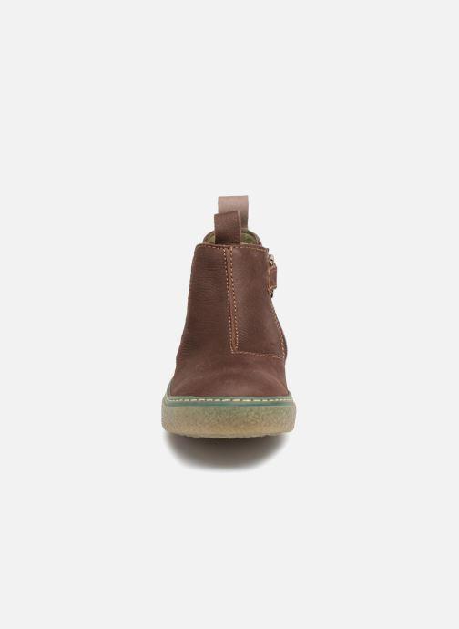 Ankle boots El Naturalista E462 Feroe Brown model view