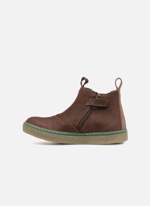 Ankle boots El Naturalista E462 Feroe Brown front view
