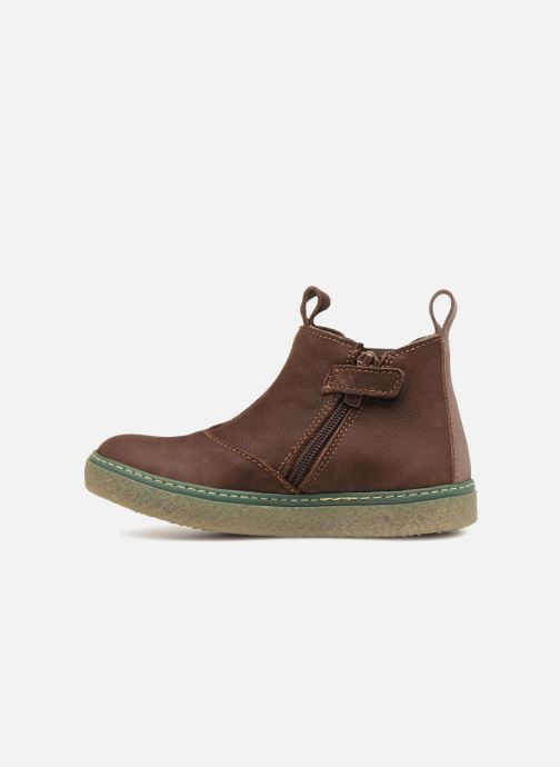 Ankle boots El Naturalista E462 Feroe Brown front view