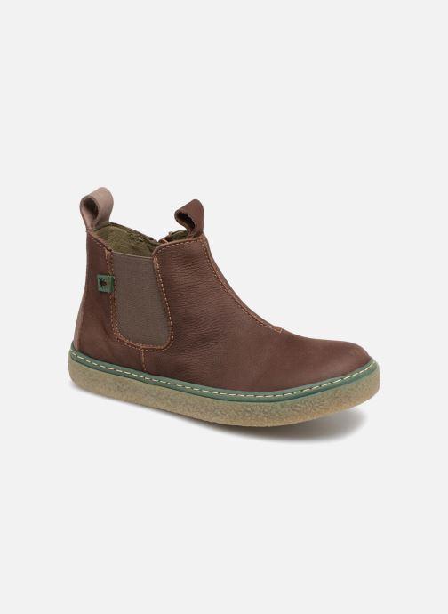 Ankle boots El Naturalista E462 Feroe Brown detailed view/ Pair view