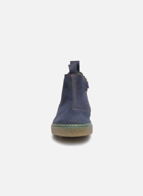 Bottines et boots El Naturalista E462 Feroe Bleu vue portées chaussures