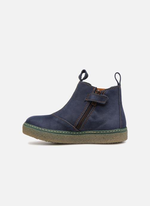 Bottines et boots El Naturalista E462 Feroe Bleu vue face