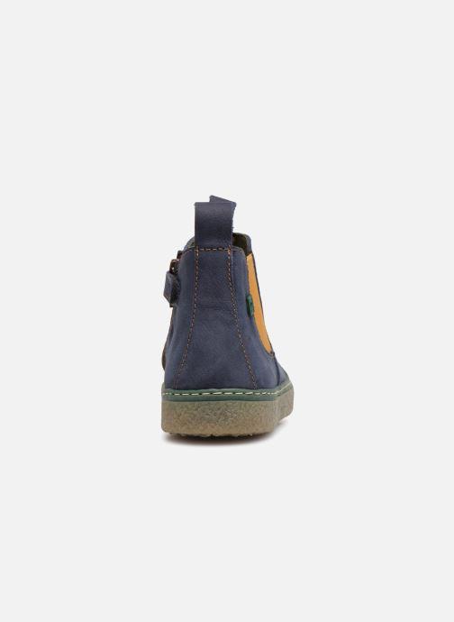 Bottines et boots El Naturalista E462 Feroe Bleu vue droite