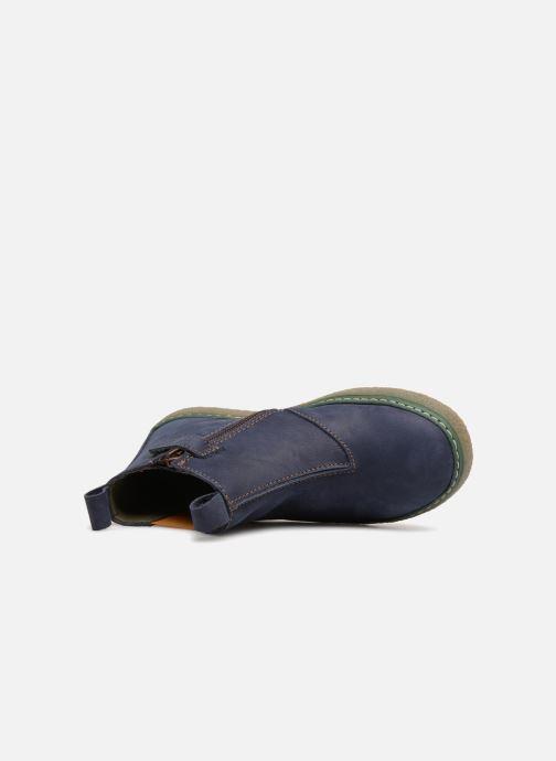 Bottines et boots El Naturalista E462 Feroe Bleu vue gauche