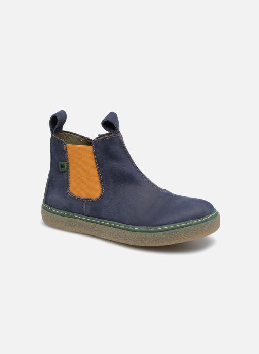 Bottines et boots El Naturalista E462 Feroe Bleu vue détail/paire