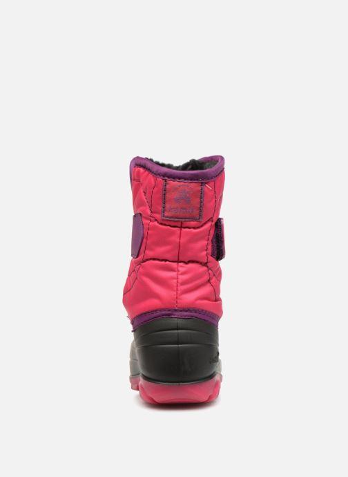 Sportschuhe Kamik Snowbug3 rosa ansicht von rechts