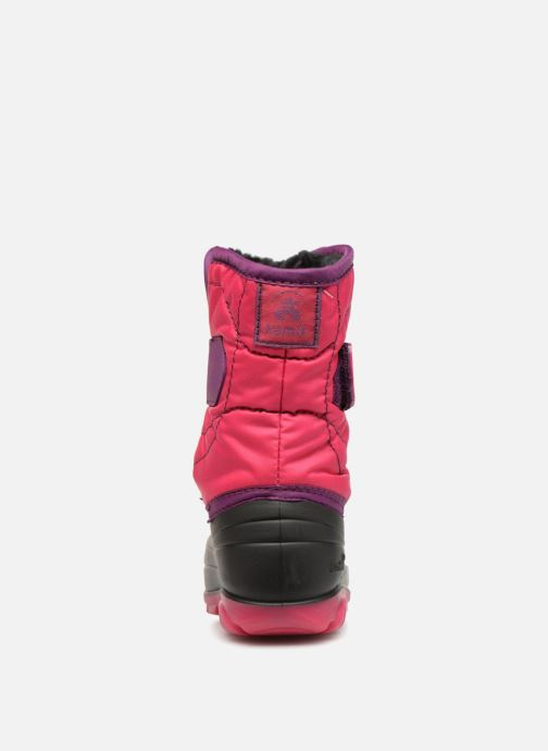 Sport shoes Kamik Snowbug3 Pink view from the right
