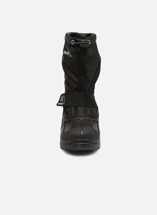 Sportschuhe Kamik Southpole4 schwarz schuhe getragen