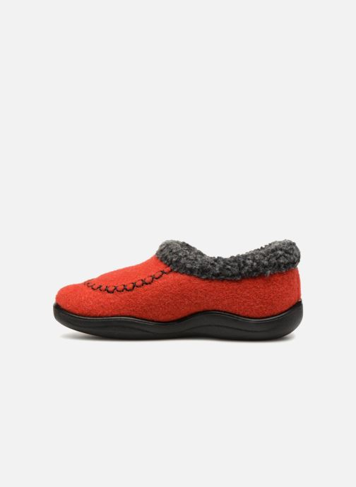 Pantofole Kamik Cozycabin2 Rosso immagine frontale