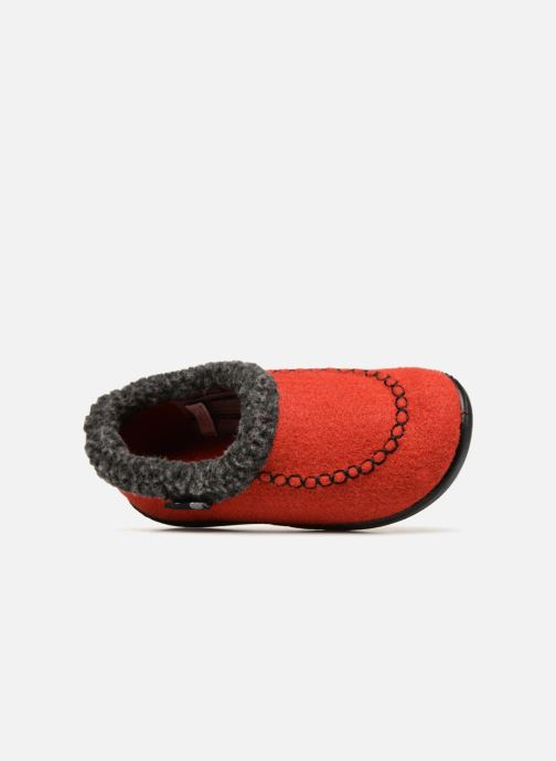 Pantofole Kamik Cozycabin2 Rosso immagine sinistra