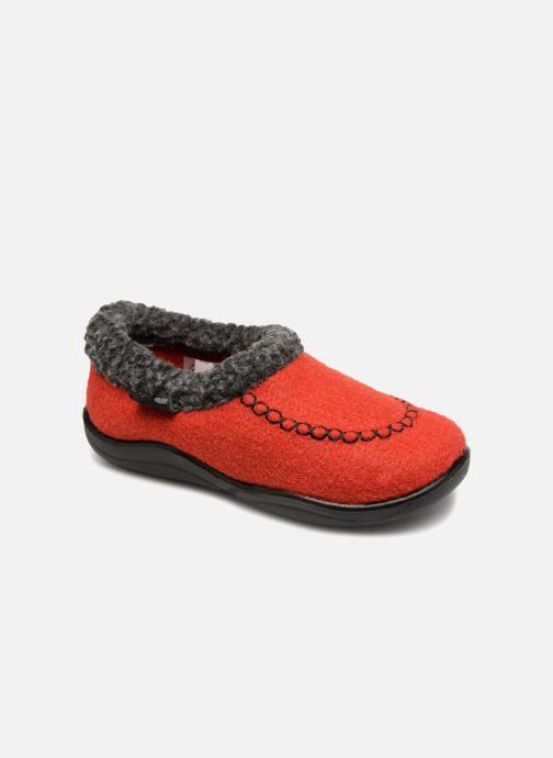 Pantofole Kamik Cozycabin2 Rosso vedi dettaglio/paio
