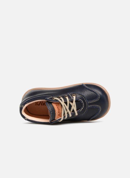 Bottines et boots Kavat Almunge EP Bleu vue gauche