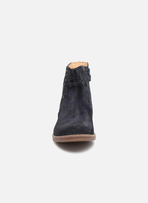 Bottines et boots Minibel Rimini Bleu vue portées chaussures