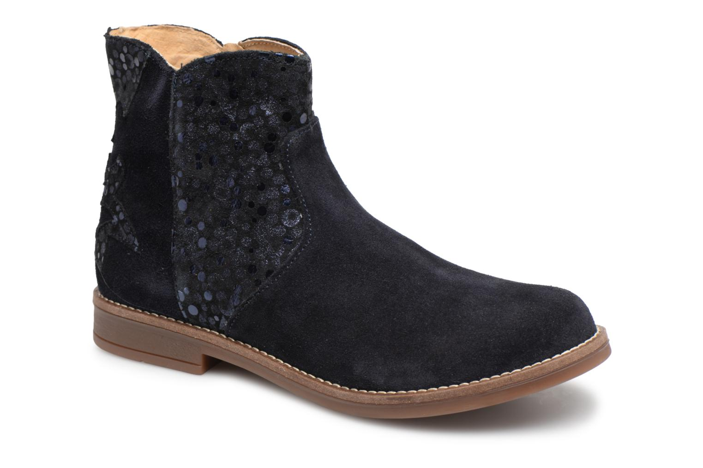Boots en enkellaarsjes Minibel Rimini Blauw detail