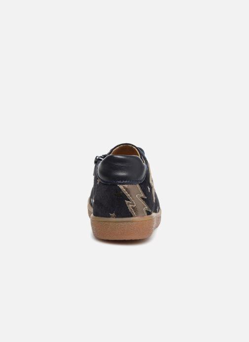 Sneakers Minibel Renata Azzurro immagine destra