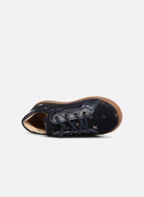 Sneakers Minibel Renata Azzurro immagine sinistra