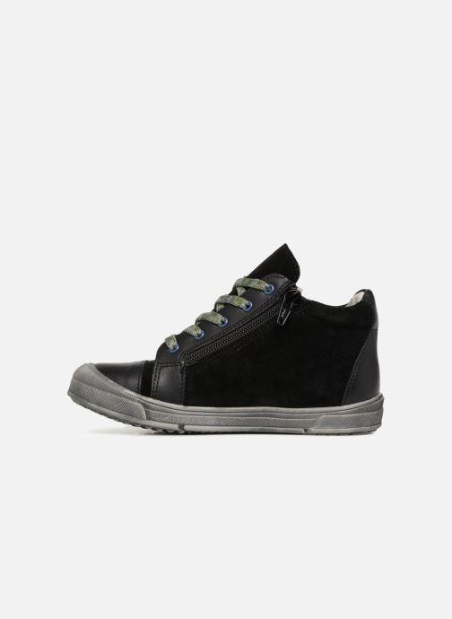 Sneakers Minibel Ringo Zwart voorkant