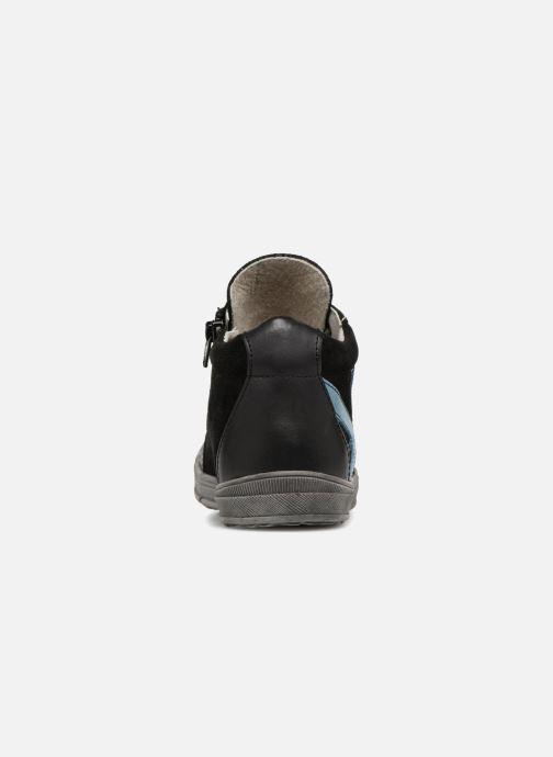 Baskets Minibel Ringo Noir vue droite