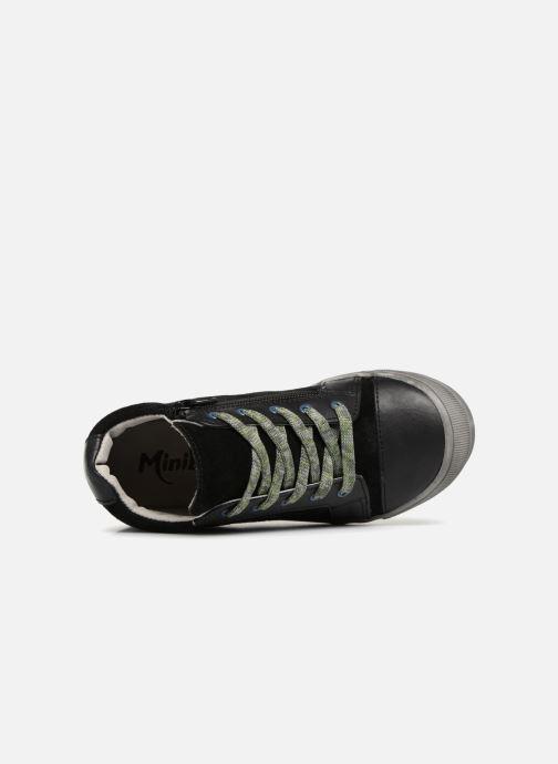 Sneakers Minibel Ringo Zwart links