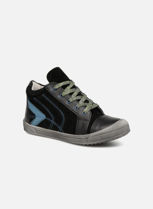 Sneakers Minibel Ringo Zwart detail