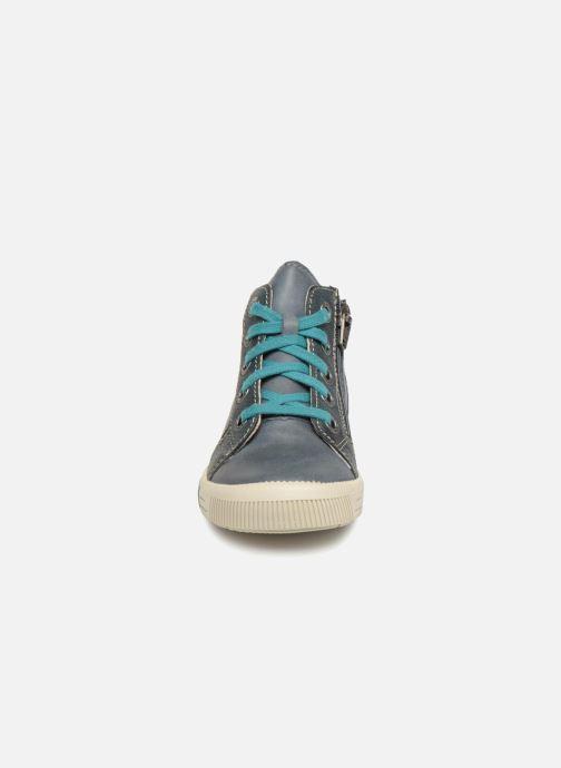 Bottines et boots Noël Mini Rint Bleu vue portées chaussures
