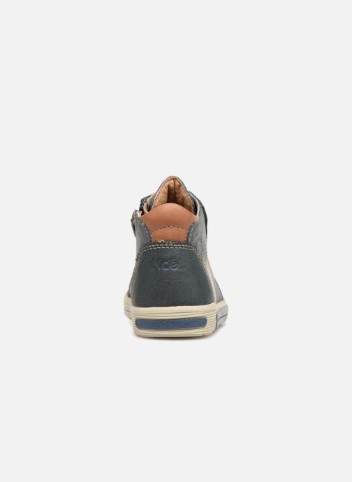 Bottines et boots Noël Mini Rint Bleu vue droite