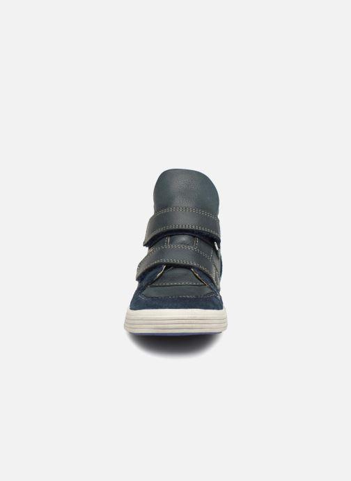 Baskets Noël Ralfy Bleu vue portées chaussures