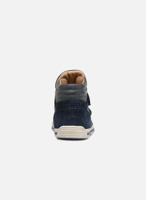 Sneaker Noël Ralfy blau ansicht von rechts